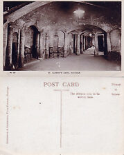 1920's St CLEMENTS CAVES HASTINGS SUSSEX UNUSED REAL PHOTOGRAPH POSTCARD