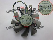 For ASUS GTX460 graphics card fan EVERFLOW R128015SU DC12V 0.5AMP 4wire 4-pin