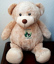 Large Teddy Bear Fallbrook California Avocado Stuffed Plush Animal Cute Soft 22""