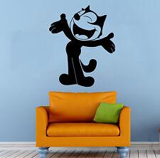 Felix Cat Wall Decal Cartoon Comics Hero Vinyl Sticker Art Home Mural Decor 2