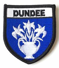 Dundee Scotland Embroidered Patch (AO62A)