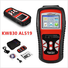 KW830 AL519 Car OBD2 EOBD CAN Engine Diagnostic Scan Tool Fault Code Reader Scan
