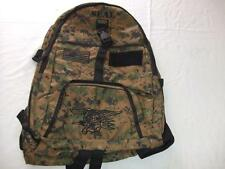 US NAVY SEAL BACKPACK DAY PACK  BOOK COMPUTER  BAG DIGI CAMO  EMBROIDERED