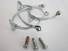 NOS HURET TOP TUBE BRAKE CABLE CLIPS CLAMPS