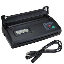 USB Tattoo Thermal Transfer Machine Copier Stencil  Flash Printer With 10 Paper