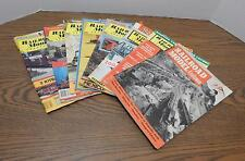 EIGHT 1952 '57 '74 '80 Railroad Model Craftsman Magazines Jan May Jul Oct Dec