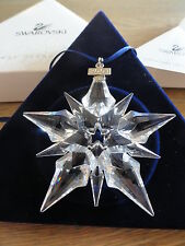 Swarovski : Christmas ornament  Star 2001.