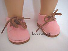 "Pink Desert Boots Shoes for 15-""18 American Girl Doll Lovvbugg Widest Selection!"