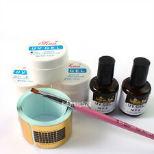 Primer Base UV Gel Top Coat UV Acrylic Pen Painting Pen Forms Nail Art Basic Kit