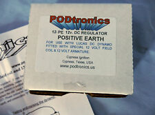 PODTRONICS 12V DC. REGULATOR POS EARTH P/N POD-12-PE LUCAS REPLACEMENT