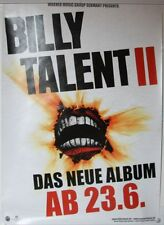 Billy Talent II Rare German 2006 Promoposter