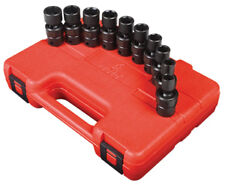 "Sunex Tools 3657 10 Piece 3/8"" Drive Swivel Impact Socket Set 10-19Mm"