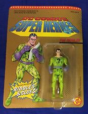 "1990 ToyBiz ""DC comics Super heros"" The Riddler action figure MOC batman villain"