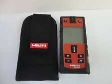 GOOD used  HILTI PD40 LASER range meter PD 40 with new pouch