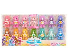 "CARE BEARS COLLECTOR SET 14 3"" FIGURES SWEET SAKURA BEAR Grumpy Harmony Cheer"