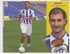 N°16  ULTIMOS FICHAJES ARPON # ESPANA RC.RECREATIVO LIGA 2003 ESTE STICKER CROMO
