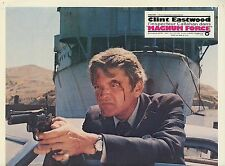 MITCH RYAN DIRTY HARRY MAGNUM FORCE 1973 1970 VINTAGE PHOTO LOBBY CARD N°4