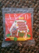 Avon Gift collection fancy favorites holiday magnet gingerbread house Christmas