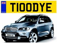 TODD TODDS TODDY TODDYS TODDIES PRIVATE NUMBER PLATE REGISTRATION MARK
