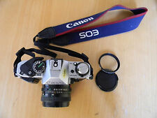 Canon AE-1 Program with Canon FD 50mm 1:1.8 Lens