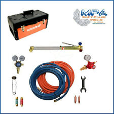 ONSITE OXY/PROPANE CUTTING KIT WITH BOX-10 METER PIPE UK REGULATOR