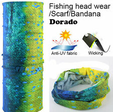 UV Face Mask Headwear Scarf Fishing Gator Bandana Scarf Neck Covering Mahi 1