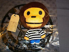 A BATHING APE BAPE BABY MILO 7TH CHOCOOLATE BABYMILO COINS BAG PLUSH DOLL