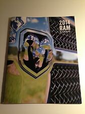 2014 Dodge Ram 46-page Original Sales Brochure