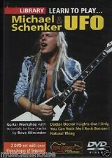 LICK LIBRARY Learn To Play MICHAEL SCHENKER UFO Tutor Doctor ROCK GUITAR DVD