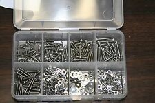 M3-0.50  X 6MM THRU 40MM   STAINLESS STEEL HEX HEAD C/S  BOLT ASSORTMENT