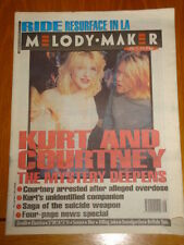 MELODY MAKER 1994 APRIL 23 COBAIN CONSPIRACY BLUR SENSER ELASTICA