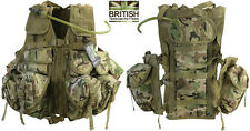 Army Combat Military Tactical Assault Vest Surplus Aqu Bladder Hydration Pack