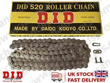 DID Standard Roller Motorcycle Chain 520 114 fits Yamaha YZ250 K 98