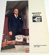 BRITISH EAGLE AIRWAYS CHAIRMANS REVIEW 1965-66 GREAT PICTURES