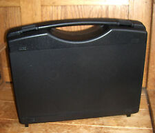 Pistol Handgun Gun Black Plastic Hard Case made in Germany