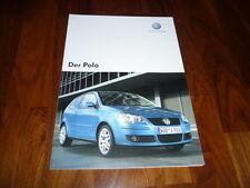 VW Polo Prospekt 05/2007