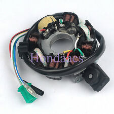 8 Pole Magneto DC Stator For GY6 Clone Engine 150cc scooters dune buggy  mopeds