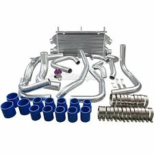 New Design Twin Turbo Intercooler Kit + BOV For Mit. 3000GT Dodge Stealth TD04