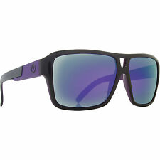 Dragon Alliance The Jam Sunglasses Jet Black Purple Ionized Mirrored Lens NEW