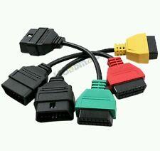 kit 3 adattatori per di Fiat alfa lancia per interfaccia OBD per elm 327