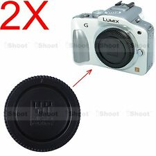 2x Body Cover Cap for Olympus Micro Four Thirds Camera PEN E PL1 PL3 PL5 PL6 PL7