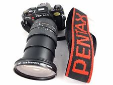PENTAX program A Camera with Sigma Zoom 28-200mm f3.8-5.6 UC Lens Excellent!