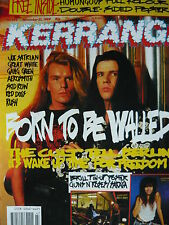 KERRANG 266 - THE CULT - RUSH - SKID ROW
