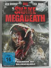 Snake Megadeath - Voodoo Horror - DMX - Übernatürlich große Mega Schlange