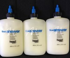 LOT OF 3 Head Games Montage FINAL ANSWER Reconstructive Conditioner 8oz Each