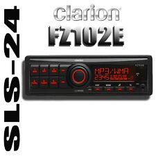 Clarion FZ102E 1-DIN Autoradio USB MP3 AUX-IN RDS Radio mit geringer Einbautiefe