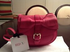 RED Valentino Bow-Flap Messenger & Crossbody Bag,Fuschia Pink Small