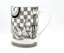 222 Fifth SLICE OF LIFE Mug 4.5 in. Malt Shoppe Design Marla Shega