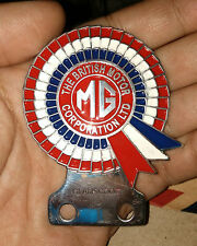 vintage CLASSIC MG MINI COOPER CAR BADGE RACING PART PRICE FOR SALE BRITISH CLUB