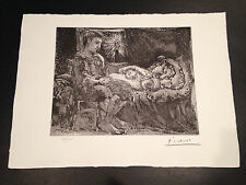 "Picasso ""Suite Vollard"" Bloch #226, Limited Edition, Picasso Family Authorized."